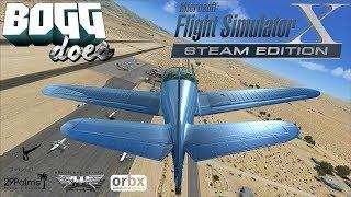 Microsoft Flight Simulator X - TrykTurbo Does Flying