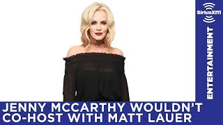 """Everyone knows Matt Lauer's been a dick for a very long time."" / Jenny McCarthy Show / Stars"