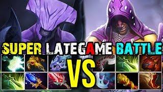 [Faceless-Void] Vs [Anti-Mage] LATEGAME BATTLE With Super Chrono Mod 35Kills | Dota 2 Highlights
