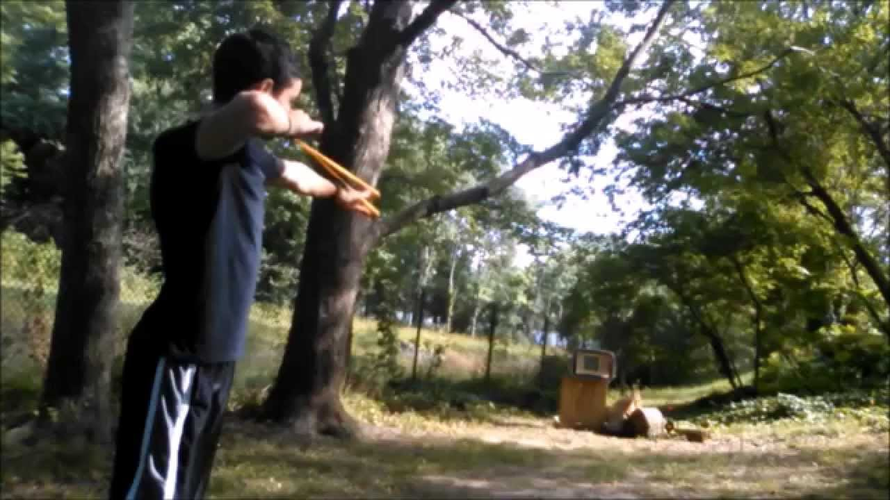 Slingshot Target Shooting