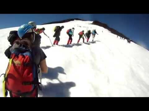 Ascenso y bajada Volcan Villarica