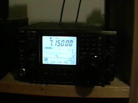 HAM RADIO - VK7AC 40M - ICOM IC-7400 !