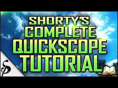 MW3 | Shorty's Complete How to Quick Scope Tutorial - Accuracy, Myths, Auto Aim, Basics & Adv. | CoD