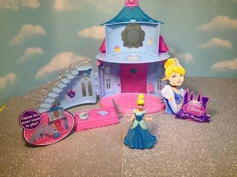 Disney Magi Clip Cinderella Castle The Disney Cinderella Movie Playset Toy
