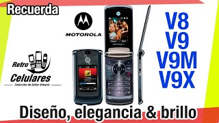 Motorola RAZR2 V9 and V8 Collection Classic or old phones