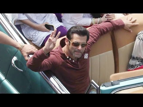 Salman Khan Joins The Republic Day Parade 2014