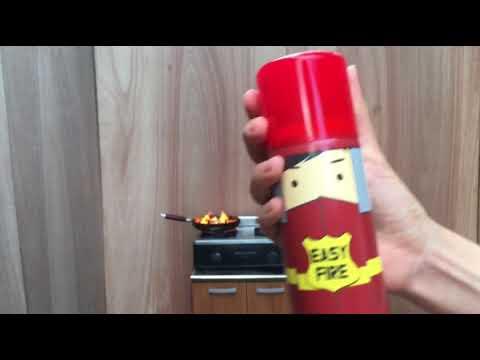 노루하우홈 이지파이어 미니소화기 영상