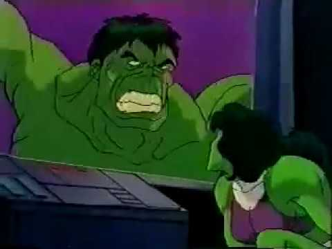 She Hulk grows muscular and kicks Dr Doom's butt Video