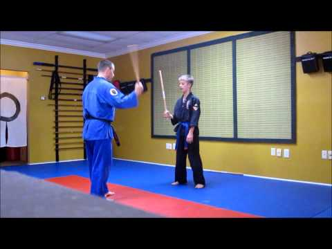 Suncoast MMA Kali-Escrima stick fighting lesson Part 1 Image 1