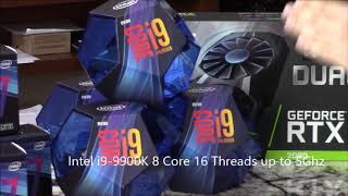 Impress Computers in Katy TX now has the latest i9-9900K Processors and Z390 Motherboards