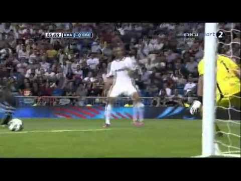 GOOAL HIGUAIN Real MAdrid 3 - 0 Granada HD 02.09.2012