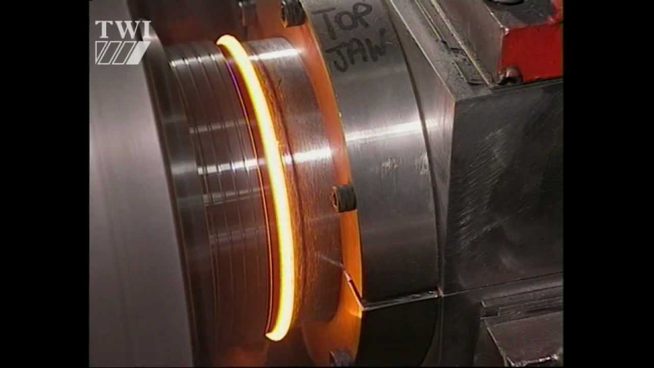 Friction Stir Welding >> Continuous drive friction welding - YouTube