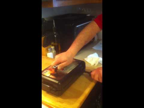 The panhandler fish filet system fish cleaner how to for Panhandler fish filleter