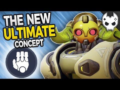 Overwatch NEW ORISA ULTIMATE - HALT! the Immobilize Bongo Concept