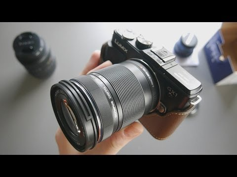 Olympus M. Zuiko 40-150mm f4-5.6 Micro Four Thirds Lens Unboxing and