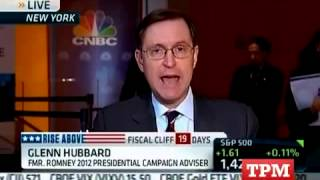 Former Romney Adviser Hit By Falling CNBC Set