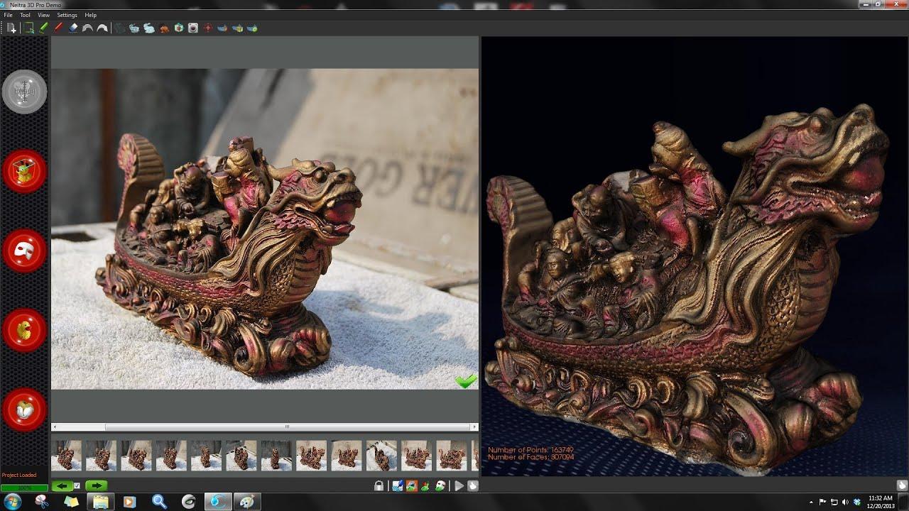 Creating Quality 3d Model From Images Using Neitra 3d Pro