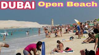 dubai open beach|Burj al arab beach July,2018|palm beach dubai|jumeirah beach dubai