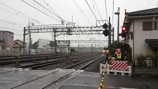 ぐでたまスマイルトレイン 各停西武新宿 南入曽通過