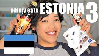 Emmy Eats Estonia 3 - an American tasting more Estonian treats