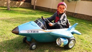 The power wheels plane broken down - Paw Patrol repaired the plane
