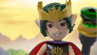 41183 The Goblin King's Evil Dragon LEGO Elves Product Animation youtube