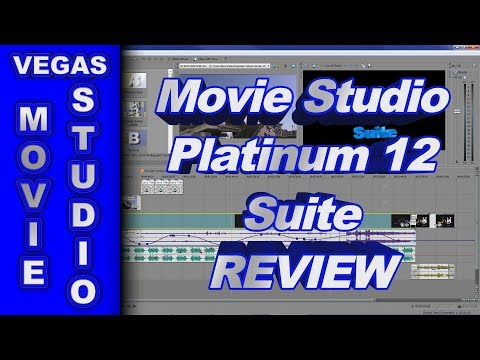 Sony Movie Studio Platinum 12 Suite 64 bit - Review of New Features