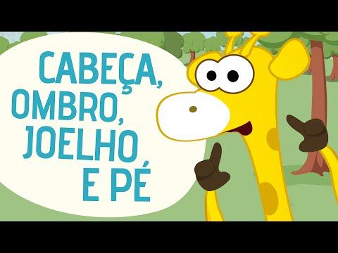 Cabeça, Ombro, Joelho E Pé | Video Musical Infantil | Toobys