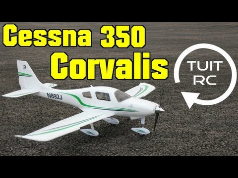 Flyzone Cessna 350 Corvalis RC Plane Review and Flight