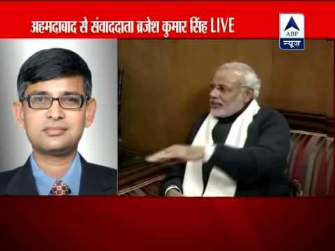 Narendra Modi meets BJP president Rajnath Singh