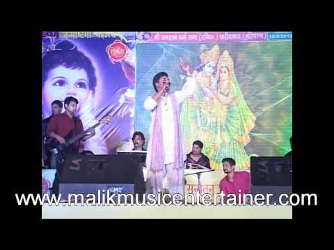 Malik Music Entertainer Presents ''hemant Brijwasi'' In Janmashtmi Mahotsav-2012 At Faridabad video