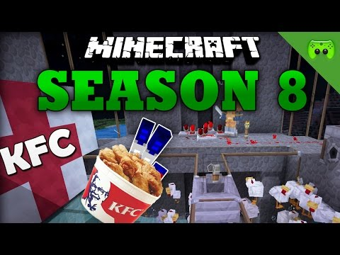 KFC «» Minecraft Season 8 # 60 | HD