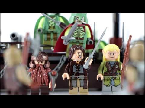 LEGO LOTR 79008 Pirate Ship Ambush Lego Lord of the Rings Review (RE-Upload)