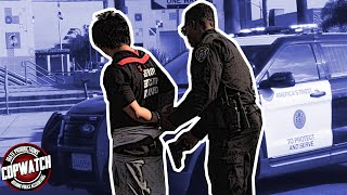 Copwatch | Young Man Walking Around with Toy Gun 🔫 Detained