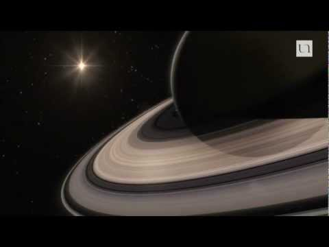 Autour des lunes de Saturne