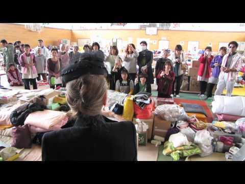 Japan Earthquake Relief With First Lady Dewi Sukarno (pt.1) video