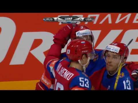 Все голы сборной России по хоккею на ЧМ 2016 в Москве
