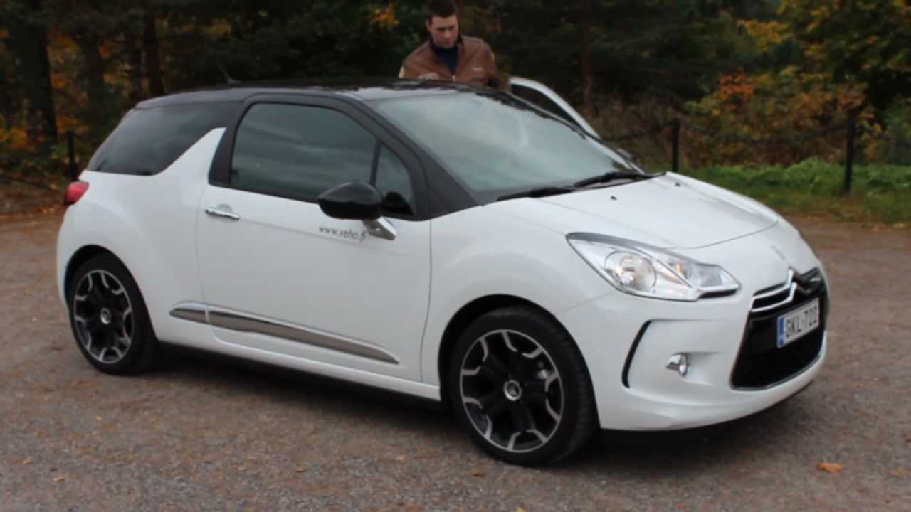 citroen ds3 vti 120 so chic youtube