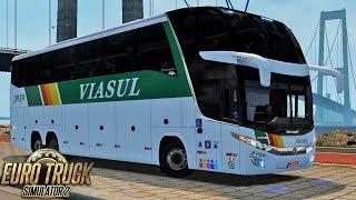 ETS 2 – MOD BUS   Paradiso 1600 LD   Viasul   Florianópolis / Sapiranga - TRBR + EAA 28.95 MB