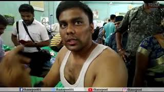 Accident victims reaction on Thane bus accident | Thane Post