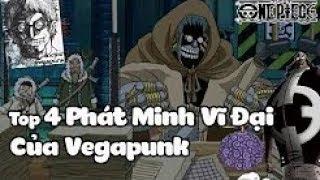 Top 4 Phát Minh Vĩ Đại Của Vegapunk Trong One Piece | Bình Luận Bựa #21