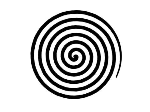 Spiral Illusion That Makes The Room Spin