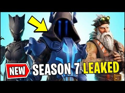 New Fortnite Season 7 Officially Leaked All V7 0 Battle Pass