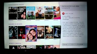 Funzioni Smart TV Samsung: Film in streaming con Infinity TV