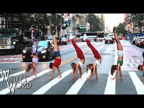 Whitney Bjerken Flips for Jordan Matter's 24 Hour Photo Challenge