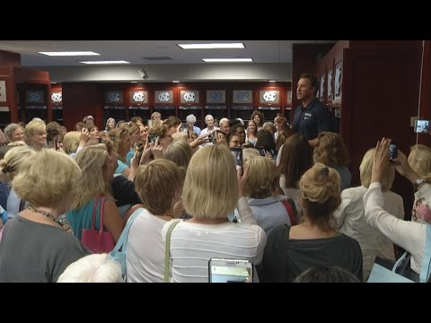 UNC Football: Ladies Football Clinic