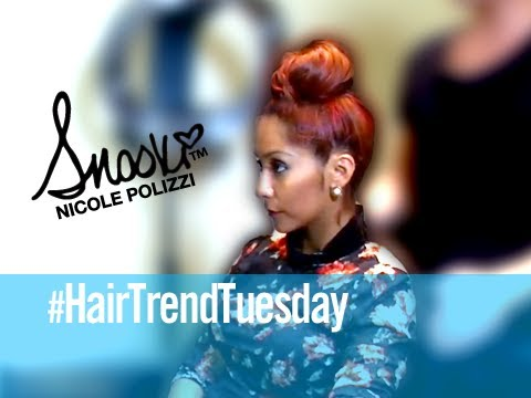 Bun Styles - Tuesday Hair Trends w/ Snooki