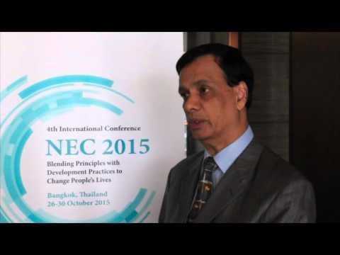 NEC 2015: Interview - Vinod Thomas (Asia Development Bank)