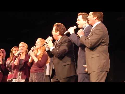 Booth Brothers & Collingsworth Family with Paul Lancaster sing JESUS SAVES
