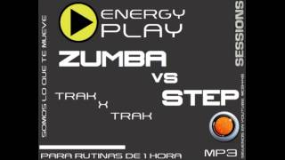 ZUMBA vs STEP  CARDIO ENERGY PLAY DJ QBOX XD FT 88
